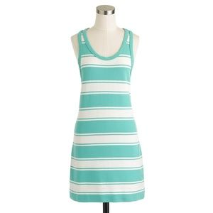 J. Crew Rugby Striped Sleeveless Dress Size Small